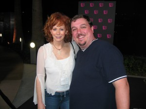 JD with Reba McEntire