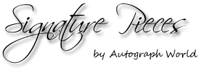 Signature Pieces by Autograph World
